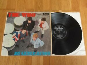 THE WHO MY GENERATION 1B/1B 1st PRESS 1965 Brunswick *SUPERB* AUDIO & COVER