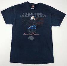 Harley Davidson T Shirt Men Medium Bald Eagle Murfreesboro Tennessee Twin Bumpus