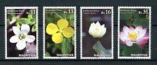 Mauritius 2016 MNH Freshwater Flora 4v Set Sacred Lotus Flowers Stamps