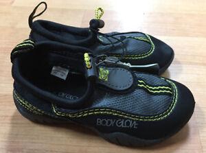 Body Glove Little Kids Boys Riptide III Water Shoes Size 8 9 10 NWT Aqua Beach