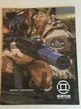 Gemtech  Suppressors 2016 Product Catalog Booklet NEW 32 Pages