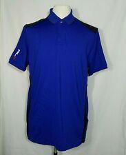 Ralph Lauren RLX Golf Polo Mens Shirt M Medium Blue Cool S/S Ventilated