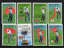GAMBIA SG1400/7 1992 OPEN GOLF CHAMPIONSHIP FINE USED