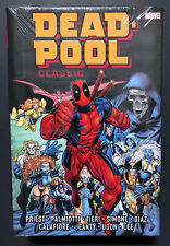 DEADPOOL CLASSIC OMNIBUS Vol 1 HC Hardcover $125 Cover *New/Sealed* Marvel