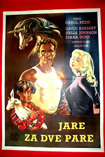 KID FOR TWO FARTHINGS 1955 DIANA DORS DAVID KOSSOFF  UNICORN EXYU MOVIE POSTER