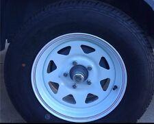 14 HT Caravan Sunraysia Rim Tyre Wheel Steel Trailer 185R14LT 5 Stud 1731427