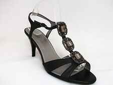 Women's Synthetic Leather Stiletto Ankle Straps Casual Shoes