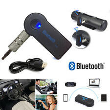 USB 3.5mm Bluetooth Wireless Aux Stereo Audio Music Car Adapter Receiver FT UPUP