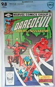 Daredevil 174  cbcs 9.8 Near Mint/Mint 1ST APP OF THE HAND FRANK MILER STORY KEY