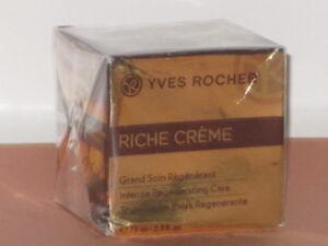 RICHE CREME YVES ROCHER INTENSE REGENERATING CREAM  2.5oz/75ml-NEW & SEALED!!