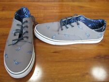 cef61bf9749 NEW Tommy Bahama Dune Drifter Sneakers MENS 10.5 Gray Fish Print  65.00