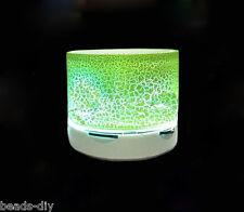Rechargeable Luminous Lamp Wireless Bluetooth Speaker Portable Mini Super Gift