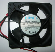 "220V fans Minebea,  NMB or SUNON  119mm Sq x 1"" USED"