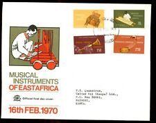 KUT 1970 Musical Instruments FDC #C5867