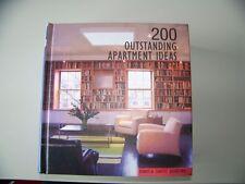 200 Outstanding Apartment Ideas by Daniela Santos Quartino (2009, Hardcover)