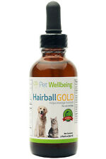Pet Wellbeing Hairball Gold Normal & Comfortable Management in Cats All Natural