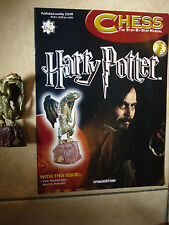 BN HARRY POTTER CHESS MAGAZINE NO. 62 WITH THE GROWLING WHITE KNIGHT