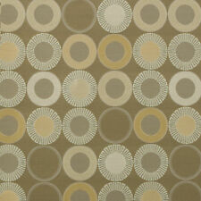 Arc/com YoYo Stone Modern Contemporary Geometric Shapes Circle Upholstery Fabric