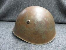 WWII ITALIAN MODEL 1933 HELMET-ORIGINAL-COMPLETE W/ LINER & CHINSTRAP
