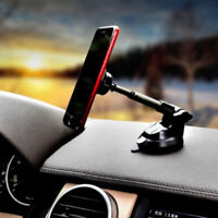 360° Magnetic Car Mount Holder Long Arm Stand For Phone GPS Mount Sticky