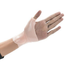 Right Left Thumb Wrist Support Gel Glove Arthritis Pain Brace Wrap Silicone
