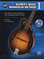 Alfred's Basic Mandolin Method 1 TAB Book Beginners Learn How to Play Method