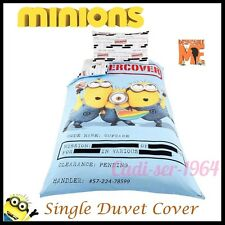 Despicable Me Minion Under Cover Single Duvet Set Official Minions Kids Bedding