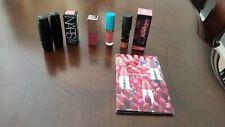 Lot of 7 Lipsticks 3 Full Size 3 Travel Size 1 Sample Name Brands Lancome, NARS