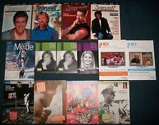 14 Hollywood film star West Coast Spotlight Video Classics magazine lot 90's '09