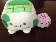 ❤Cute Plush Tofu Phone Holder and Get a Cute Little Tofu phone strap For FREE❤