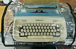 TYPEWRITER COVERS FOR SMALL PORTABLE TYPEWRITERS- CLEAR, HEAVY-DUTY VINYL