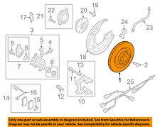 AUDI OEM 09-17 Q5 Rear Brake-Rotor 4H0615601Q