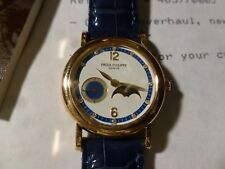 PP 4857J Lady's Calatrava Diamond Moon Phase 18K Yellow Gold. Complete SET!!!
