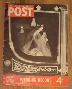 Picture Post Magazine November 29th 1947 Vol 37 No.9 Wedding Record