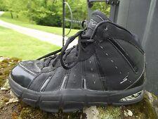 Air Jordan Melo M7 Sz 6 Youth Black & Metallic Silver High Top Sneakers Athletic