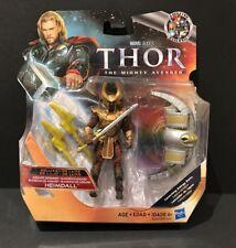 "Marvel Universe Avengers Thor Heimdall Deluxe MOC MIB 3.75"" Figure"