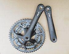 new racing bike Triple Chainset prowheel black road bike Crankset 30 42 52T