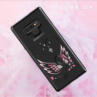 KINGXBAR Swan Authorized Swarovski Plastic Case for Samsung Galaxy Note 9 N960