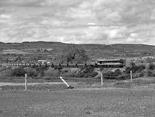 PHOTO  1985 EMPTY ORE TRAIN APPROACHING SILVERMINES CIE 001 CLASS LOCOMOTIVE NO.