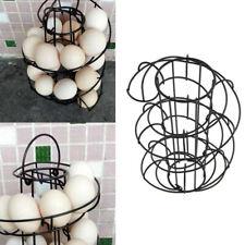 Kitchen Egg Holder Spiral Egg Storage Tray Holder Stand Rack For Eggs