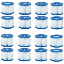 Bestway Swimming Pool Pump Replacement Cartridge Type VII & D (8 Packs of 2 Ea.)