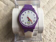Swatch muy raro Juegos Olímpicos de la Juventud de Singapur Especial Reloj GZ224 subir la parte superior
