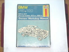 BMW 316 320 1975-77 Haynes Manual New Old Stock