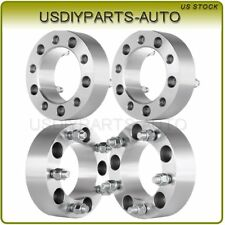 "(4) 2"" Inch 5x5.5 to 5x5.5 108mm Wheel Spacers 1/2"" Ford Bronco Jeep CJ Dodge"