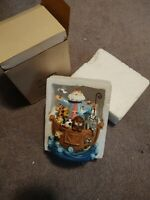 Noah's Ark bobble head Music Box/Figurine  A Whole New World - Kingspoint Design