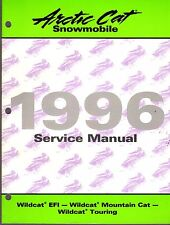 1996 ARCTIC CAT SNOWMOBILE WILDCAT EFI,TOURING SERVICE MANUAL 2255-312  (311)