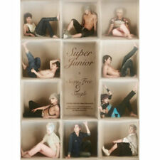 SUPER JUNIOR [SEXY, FREE & SINGLE] 6th Album B Ver CD+Booklet K-POP SEALED