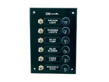 Schalttafel Schaltpaneel 115x165mm Kunststoff schwarz