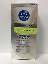 PEARL DROPS DAILY WHITENING ULTIMATE RESTORE TOOTHPASTE 50ML