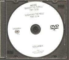 "AC/DC ""SHOOT TO THRILL/HIGHWAY TO HELL"" Promo DVD 2010"